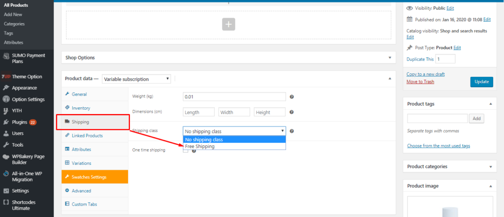 Woocommerce Change shipping method title and cost manually